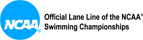 The Official Lane Line of the NCAA® Swimming Championships