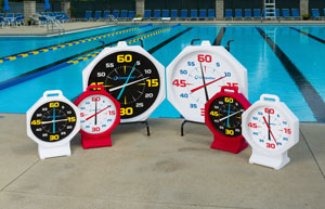 """31"""" and 15"""" Pace Clocks"""