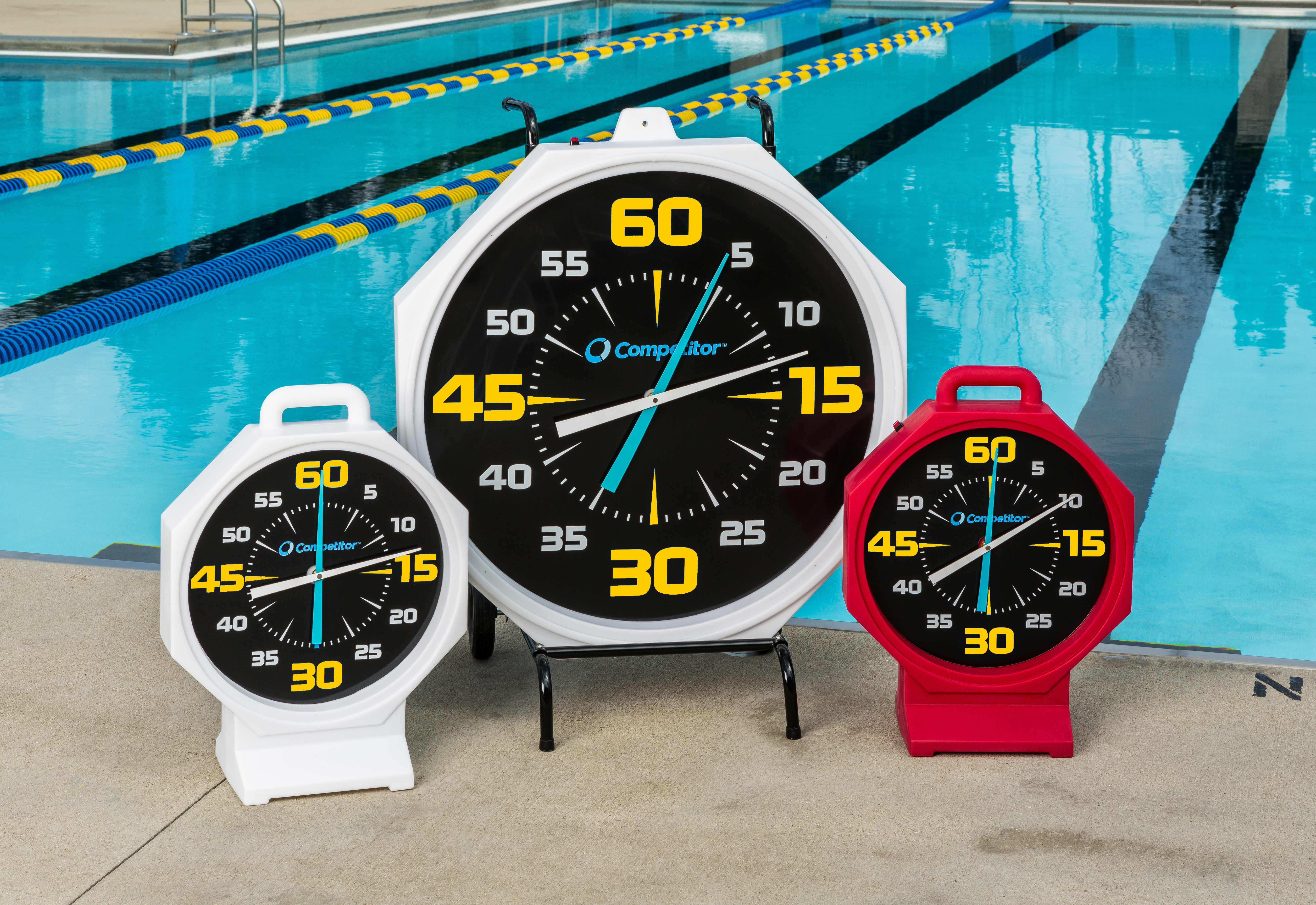 "31"" and 15"" Pace Clock"