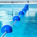 Blue floats in pool 0048 md