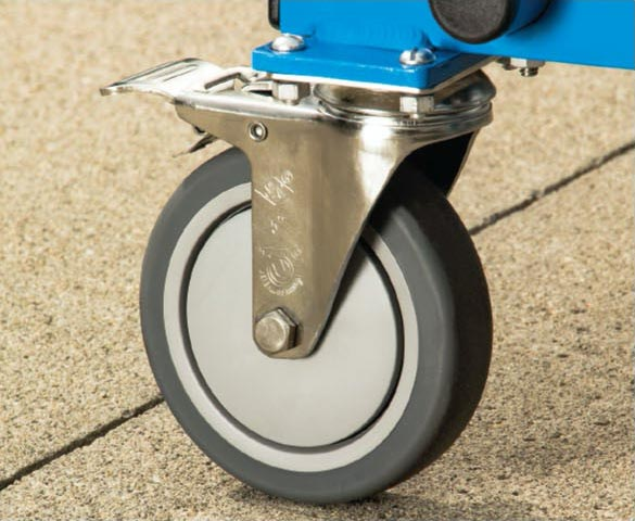 5 inch stainless steel Caster